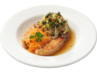 Salmon Fish with Eggplant