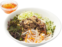 Chilli Lemongrass Beef with Rice Vermicelli